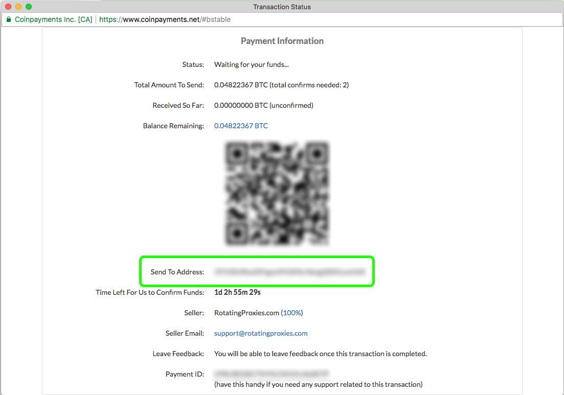 Bitcoin Sign-Up Step 3