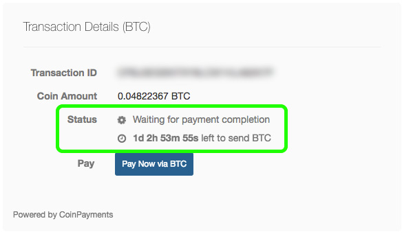 Bitcoin Sign-Up Step 4